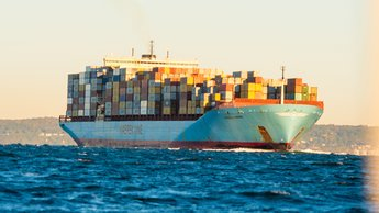 NY container vessel
